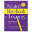 Merriam Webster Merriam Webster Notebook Thesaurus MERFSP0573