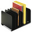 MMF Industries STEELMASTER® by MMF Industries™ Adjustable Steel Book Rack MMF26413BRBLA