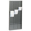 MMF Industries STEELMASTER® by MMF Industries™ Time Card Rack MMF27018JTRGY