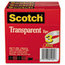 3M Scotch® Transparent Glossy Tape MMM600723PK