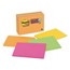 3M Post-it® Notes Super Sticky Large Format Notes in Neon Colors MMM6445SSP