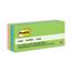 3M Post-it® Original Pads in Jaipur Colors MMM653AU