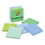3M Post-it® Recycled Notes in Bora Bora Colors MMM6545SST