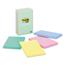 3M Post-it® Original Pads in Marseille Colors MMM6605PKAST