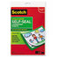 3M Scotch® Self-Sealing Laminating Sheets MMMLS854SS10