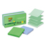 3M Post-it® Pop-up Recycled Notes in Bora Bora Colors MMMR33010SST