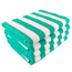Monarch Brands Green Stripe 15lb Cabana Towel, 30