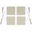ProMed Specialties Electrd Foam Wht 2X2 4/PK 10Pk/Bg 10Bg/BX MON10202501