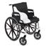 Span America Seat / Backrest Cushion Combination Short-Wave® 18 Inch Width Foam, 4EA/CS MON14004300
