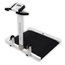 Detecto Scale Wheelchair Scale Digital 1000 X 0.2 lbs. White with Black Base Batteries MON14923700