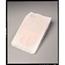 Tidi Products Bedpan Cover 19 L X 11.5 W X 3.5 H Inch, White, Open Back, Flushable, 250EA/BX MON20101200