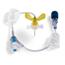 Bard Medical Huber Infusion Set MiniLoc® 22 Gauge 0.75