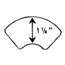 Nu-Hope Labs Extra Wide Adhering Tape Strip 1-1/4in Wide MON23324900