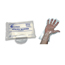 McKesson Utility Glove One Size Fits Most Polyethylene Clear NonBeaded Cuff, 100EA/BX 50BX/CS MON26041310