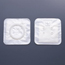 Hollister Stoma Cap CenterPointLock® 2-Piece, 2-1/4 Inch, Code J, Beige, 25/Box, 25EA/BX MON34034900