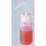 Fisher Scientific Squeeze Wash Bottle Thermo Scientific® Nalgene® 500 mL, 16 oz, Clear, Polypropylene Bent-Stem Closure Liquid, 6EA/PK MON34092400
