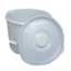 Mabis Healthcare Commode Pail with Lid MON34723300