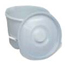 Mabis Healthcare Commode Pail with Lid MON34723306