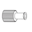 B. Braun Luer Replacement Cap Red Cap® MON38262800