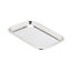 Miltex Medical Instrument Tray Miltex Non Perforated Mayo Stainless Steel 23/32