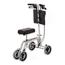 Essential Knee and Leg Folding Walker Adjustable Height Free Spirit® Aluminum 400 Lbs MON40003800