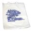 McKesson Bedside Bag Medi-Pak® 7 X 11-1/2 Inch White with Blue Floral Print Polyethylene, 100EA/BG 20BG/CS MON47221200