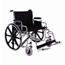 Merits Health Bariatric Wheelchair Extra Heavy Duty Removable Desk Arm Mag Black 26