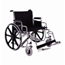 Merits Health Bariatric Wheelchair Extra Heavy Duty Removable Desk Arm Mag Black 28
