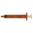 BD Oral Dispenser Syringe 3 mL Blister Pack Luer Slip Tip Without Safety, 100 EA/BG MON52292800