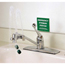 Moore Medical Eye Wash Faucet Station Faucet Mount Continuous Flow MON58172700