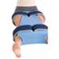 DJO Hip Abduction Pillow Medium Hook and Loop Strap Closure MON73993000