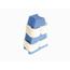McKesson Hip Abduction Pillow Medi-Pak® Medium Hook and Loop Closure MON80153000