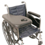 Patterson Medical Flip-Away Padded Trimline Half Tray w/Molded Cup Holder MON81504200