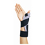 DJO Thumb Splint ThumbSPICA® Abducted Thumb Volara Foam Right Hand Black / Gray One Size Fits Most MON87103000