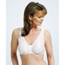 McKesson Post-Surgical Bra Medi-Pak Surgi-Bra II White 32