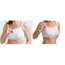 McKesson Medi-Pak® Performance Surgi-Bra® Post-Surgical Bra White 38 to 40 Inch MON91033000