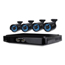 Night Owl Night Owl Eight-Channel Smart HD Video Security System with Four 720p HD Cameras NGTBA720814