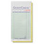 National Check GuestCheck Pad NTCA6000G