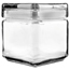 Office Settings Office Settings Stackable Glass Storage Jars OSIGJ01Q