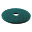 Boardwalk Standard 13-Inch Diameter Heavy-Duty Scrubbing Floor Pads PAD4013GRE