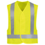 Red Kap Men's Hi-Vis Safety Vest UNFVYV6YE-RG-XL