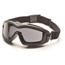 Pyramex Safety Products V2G-XP™ Eyewear Dual Gray Anti-Fog with Black Frame PYRGB6420SDT