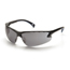 Pyramex Safety Products Venture 3™ Eyewear Gray Anti-Fog Lens with Black Frame PYRSB5720DT