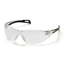 Pyramex Safety Products PMXSLIM™ Eyewear Clear Lens with Black Temples PYRSB7110S