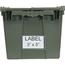 Quantum Storage Systems 3 x 5 Inch Clear Label Holders QNTQDL-2115-CS