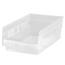 Quantum Storage Systems Clear Economy Shelf Bins QNTQSB101CL