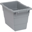 Quantum Storage Systems Cross Stack Tub Series Bins QNTTUB1711-12GY-CS