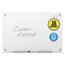 Quartet Quartet® Infinity™ Magnetic Glass Marker Board QRTG4836W