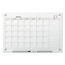 Quartet Infinity Magnetic Glass Calendar Board, 36 x 24 QRTGC3624F