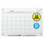 Quartet Infinity Magnetic Glass Calendar Board, 48 x 36 QRTGC4836F